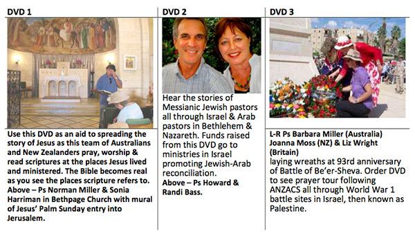 DVDs_Israel_Tour